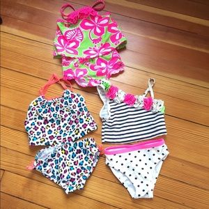 Other - 3 Piece Bathing Suit Bundle 24 Months